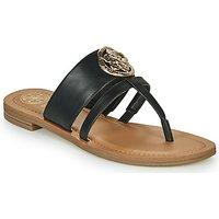 Guess  GENERA  women's Flip flops / Sandals (Shoes) in Black