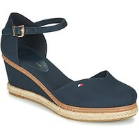 Tommy Hilfiger  BASIC CLOSED TOE MID WEDGE  women's Sandals in Blue