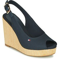 Tommy Hilfiger  ICONIC ELENA SLING BACK WEDGE  women's Sandals in Blue