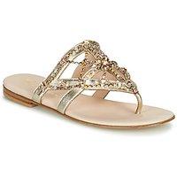 Fru.it  CAROTE  women's Flip flops / Sandals (Shoes) in Gold