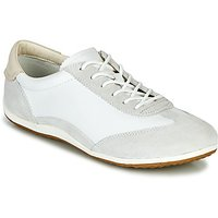 Geox  D VEGA  women's Shoes (Trainers) in White