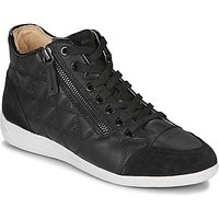 Geox  D MYRIA  womens Shoes (High-top Trainers) in Black