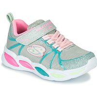Skechers  SHIMMER BEAMS  girls's Children's Shoes (Trainers) in Silver