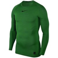 Nike  Pro Top Compression  men's  in Green