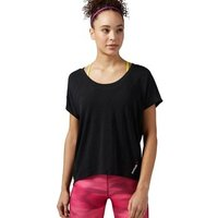 Reebok Sport  One Series Burnout  women's T shirt in Black