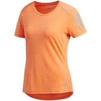 adidas  Own The Run Tee  women's T shirt in Orange