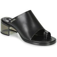 Kenzo  K ROUND MID HEELED  womens Mules / Casual Shoes in Black