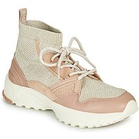 Coach  C245 RUNNER  women's Shoes (High-top Trainers) in Pink