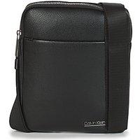 Calvin Klein Jeans  CK BOMBE' FLAT CROSSOVER  men's Pouch in Black