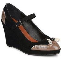 C.Petula  MAGGIE  women's Court Shoes in Black