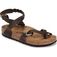 Birkenstock  YARA LEATHER  women's Sandals in Brown