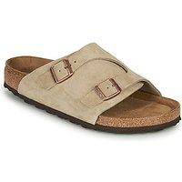 Birkenstock  ZURICH SFB LEATHER  men's Mules / Casual Shoes in Grey