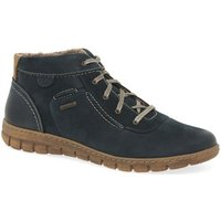 Josef Seibel  Steffi 53 Womens Casual Lace Up Ankle Boots  womens Mid Boots in Blue