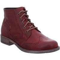 Josef Seibel  Sienna 74 Womens Brogue Ankle Boots  women's Mid Boots in Red