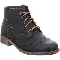 Josef Seibel  Sienna 74 Womens Brogue Ankle Boots  women's Mid Boots in Black