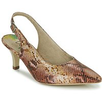 Dorking  MOON  womens Court Shoes in Brown