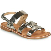 Les Petites Bombes  BRANDY  women's Sandals in Silver