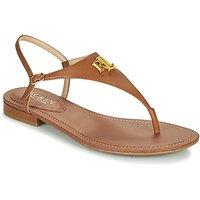 Lauren Ralph Lauren  ELLINGTON SANDALS CASUAL  women's Sandals in Brown