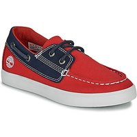 Timberland  NEWPORT BAY BOAT SHOE TD  girls's Children's Boat Shoes in Red