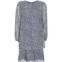 Lauren Ralph Lauren  Alois  women's Dress in Blue