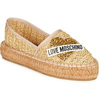 Love Moschino  JA10393G0A  women's Espadrilles / Casual Shoes in Beige