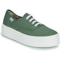 Victoria  DOBLE LONA  women's Shoes (Trainers) in Green