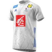 adidas  Maillot exterieur France 2019/20  men's T shirt in White