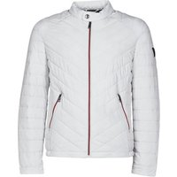 Guess  SUPER FITTED JKT TRAVEL  men's Jacket in White