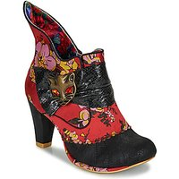 Irregular Choice  MIAOW  women's Low Ankle Boots in Red