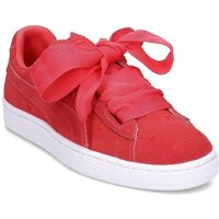Puma  Heart Valentine  girls's Children's Shoes (Trainers) in Pink