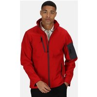 Professional  Arcola 3 Layer Membrane Softshell Jacket Red  mens Coat in Red