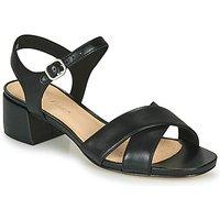 Clarks  SHEER35 STRAP  women's Sandals in Black