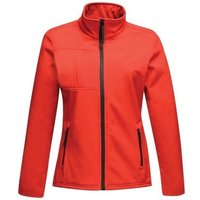 Professional  Octagon II Printable 3 Layer Membrane Softshell Jacket Red  mens Fleece jacket in Red