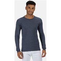 Professional  THERMAL Long sleeve Vest Base Layer  men's Sweater in Blue