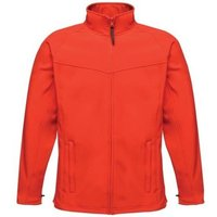 Professional  Uproar Interactive Softshell Jacket Red  men's Jacket in Red