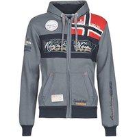 Geographical Norway  FLYER  men's Sweatshirt in Grey