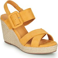 Xti  TED  women's Sandals in Yellow