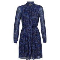 MICHAEL Michael Kors  BOLD BENGAL TIER DRS  women's Dress in Blue
