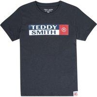 Teddy Smith  TOZO  boys's Children's T shirt in Blue