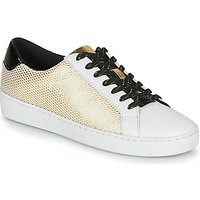 MICHAEL Michael Kors  IRVING LACE UP  women's Shoes (Trainers) in Gold