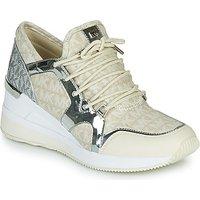 MICHAEL Michael Kors  LIV TRAINER  women's Shoes (Trainers) in Beige