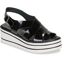 André  ELVIA  women's Sandals in Black