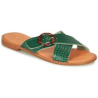 André  BRAIDY  women's Sandals in Green