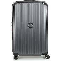 Delsey  SECURITIME ZIP 68 CM 4 DOUBLE WHEELS  mens Hard Suitcase in Grey