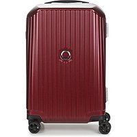 Delsey  SECURITIME FRAME 55 CM DOUBLE WHEELS CABIN  men's Hard Suitcase in Red