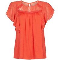 Naf Naf  LAGARDEN C1  womens Blouse in Red