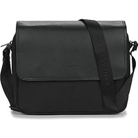 LANCASTER  BASIC SPORT MENS 14  mens Messenger bag in Black