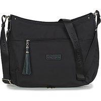 LANCASTER  BASIC POMPON 38  womens Shoulder Bag in Black