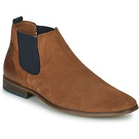 André  WALOU  men's Casual Shoes in Brown
