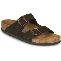 Birkenstock  ARIZONA SFB LEATHER  men's Mules / Casual Shoes in Brown